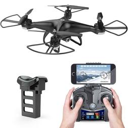 ]HS110D FPV RC Drone with 720P HD Camera Live Video 120° Wi