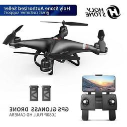 Holy Stone HS110G FPV Drone with HD Camera 1080P Selfie Quad