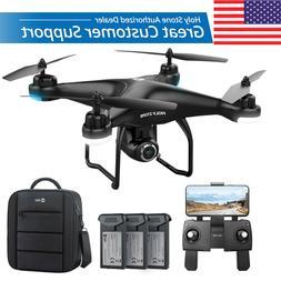 HS120D FPV Drones with 1080p HD Camera GPS RC Quadcotper Fol