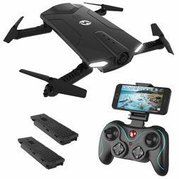 hs160 2 4g selfi fpv drone