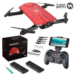 HS160 Selfie FPV Drone With 720P HD WiFi Camera Foldable RC