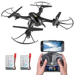 Holy Stone HS200 FPV Selfie Drone with 720P HD Camera 2.4Ghz