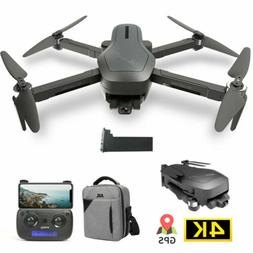 Holy Stone HS470 Foldable GPS RC Drone with 4K HD Camera Bru