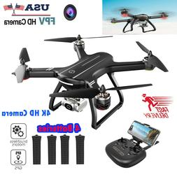 Holy Stone HS700D 4K GPS FPV Drone with HD Camera  Drone Bru
