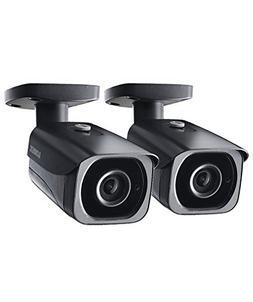 2-Pack of Lorex 8MP 4K IP Bullet Security Camera LNB8921BW,