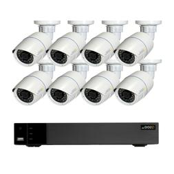 Q-See HD IP Surveillance System 8-Channel HD IP NVR with 2TB