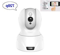 Amgaze IP Wireless Security Camera, 720P WiFi HD Pan Tilt Ca