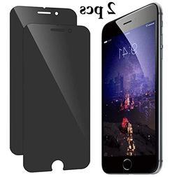 Bangcool 2PCS iPhone X Screen Protector Anti Spy 9H Hardness