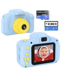 Kids Camera 1080P 2inch HD Children Digital Cameras