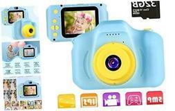 "Kids Camera Children Digital Cameras Toys 1080P 2.0"" HD Todd"