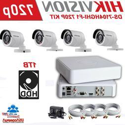 Hikvision KIT  HD 720p security camera kit, DVR, 4 cameras,