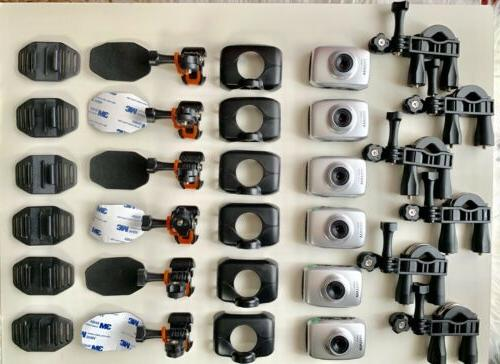 1 lot of 6 hd action cameras