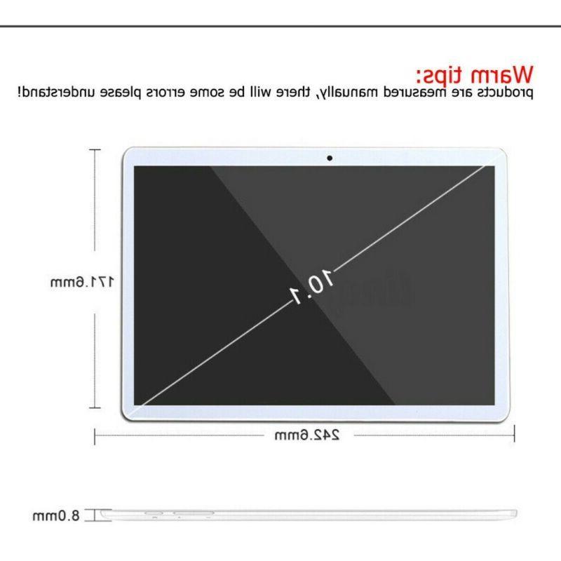10 HD Tablet 8 Core Wifi bluetooth 4.0 Dual Cameras