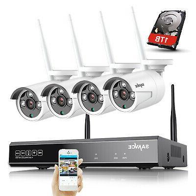 1080p 4ch wireless nvr wifi ip 2000tvl