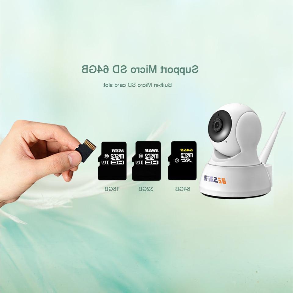 BESDER 720P Security <font><b>IP</b></font> <font><b>Camera</b></font> Way Audio Mini <font><b>Camera</b></font> Vision CCTV WiFi <font><b>Camera</b></font> Monitor iCsee