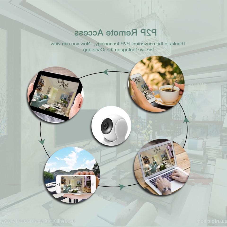 Way Audio <font><b>Camera</b></font> CCTV WiFi <font><b>Camera</b></font> Baby Monitor iCsee