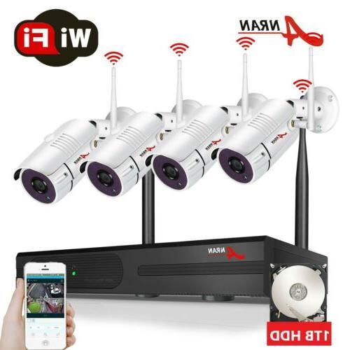 1080p 8ch wifi nvr 4 wireless ip
