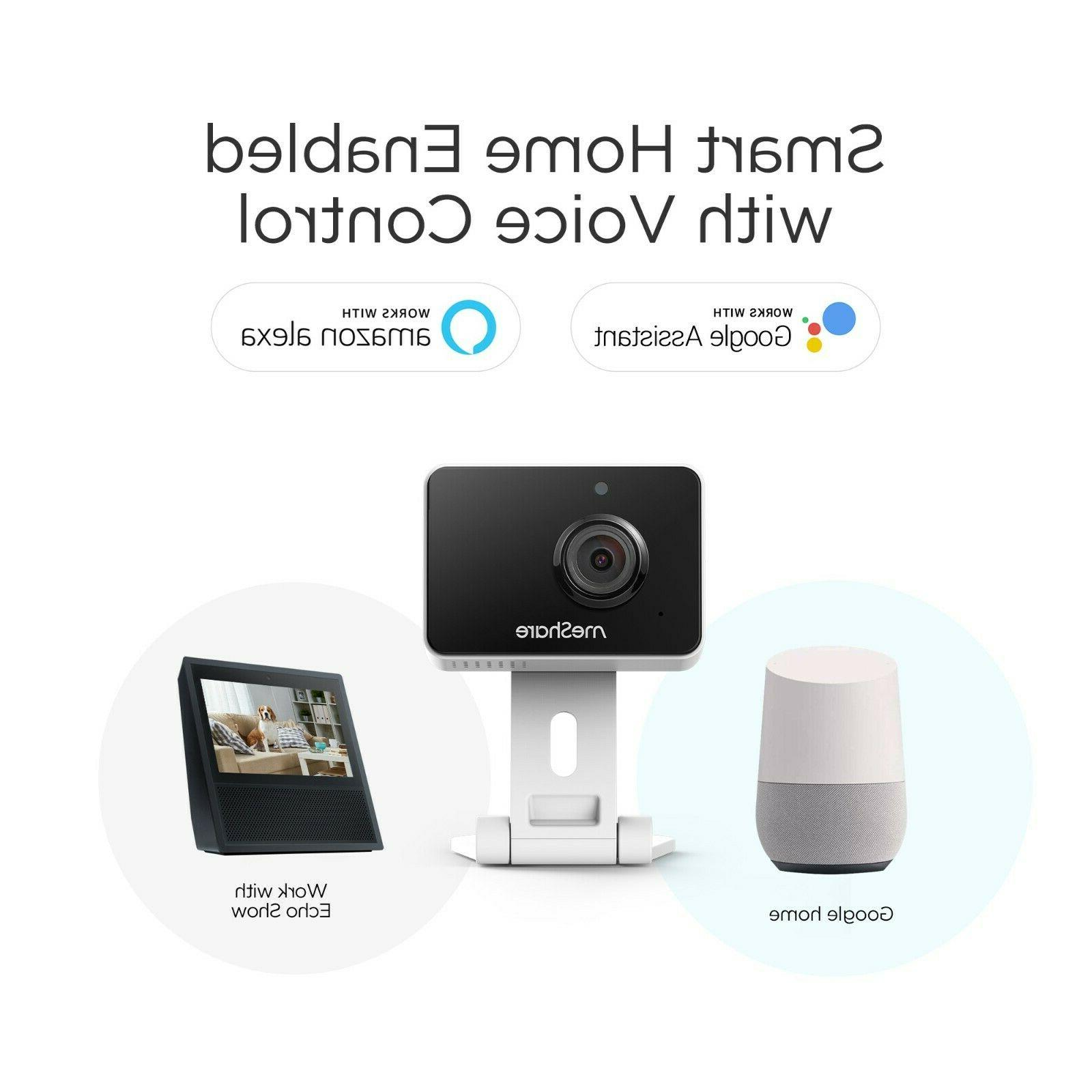 1080p HD Mini Wireless Security Cameras Google/iOS 4-Pack