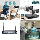 ONWOTE 1080P HD NVR Outdoor Wireless Home Security Camera Sy