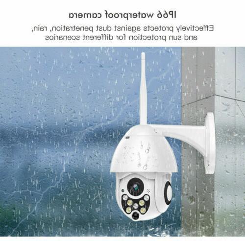 1080P HD Waterproof WiFi Security Camera Night Vision