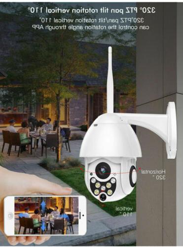 WiFi PTZ Security Night Vision