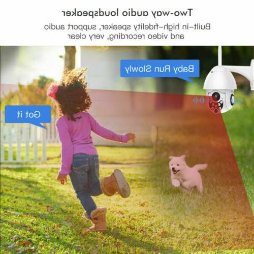 1080P Waterproof Outdoor WiFi Tilt Security IP Night Vision