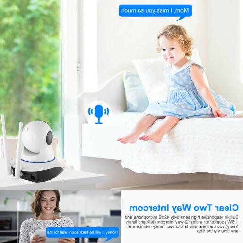 1080P HD Wireless Security Indoor Home Monitor