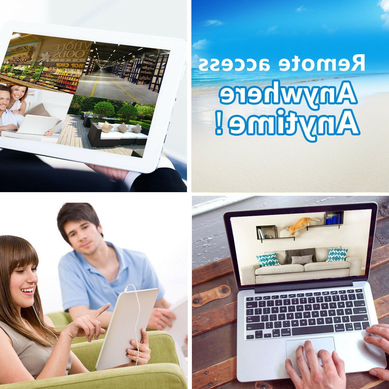 XVIM HDMI CCTV Outdoor IR Night Security Camera System