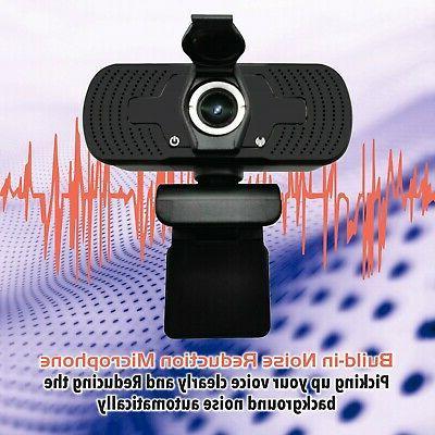 1080P Webcam Tripod HD for Zoom