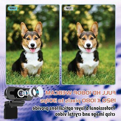 1080P Webcam Tripod HD for Zoom FaceTime