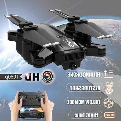 1080p wifi rc hd camera drone follow