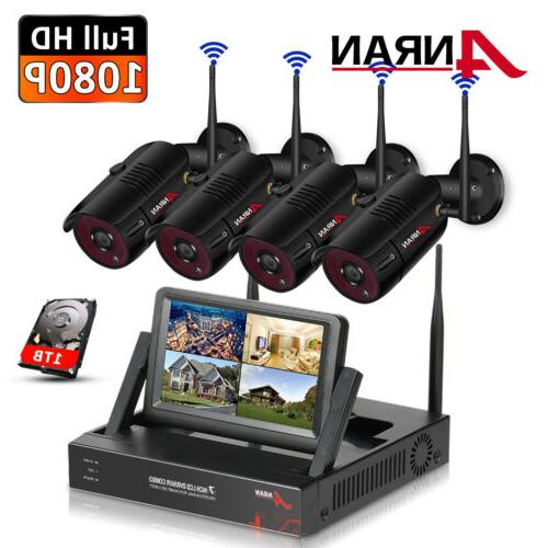 1080p wireless security camera system outdoor 2tb