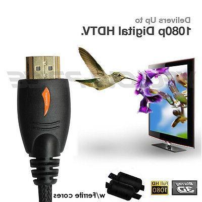 10x HDMI Male Cable CorD HD 1080P HDTV