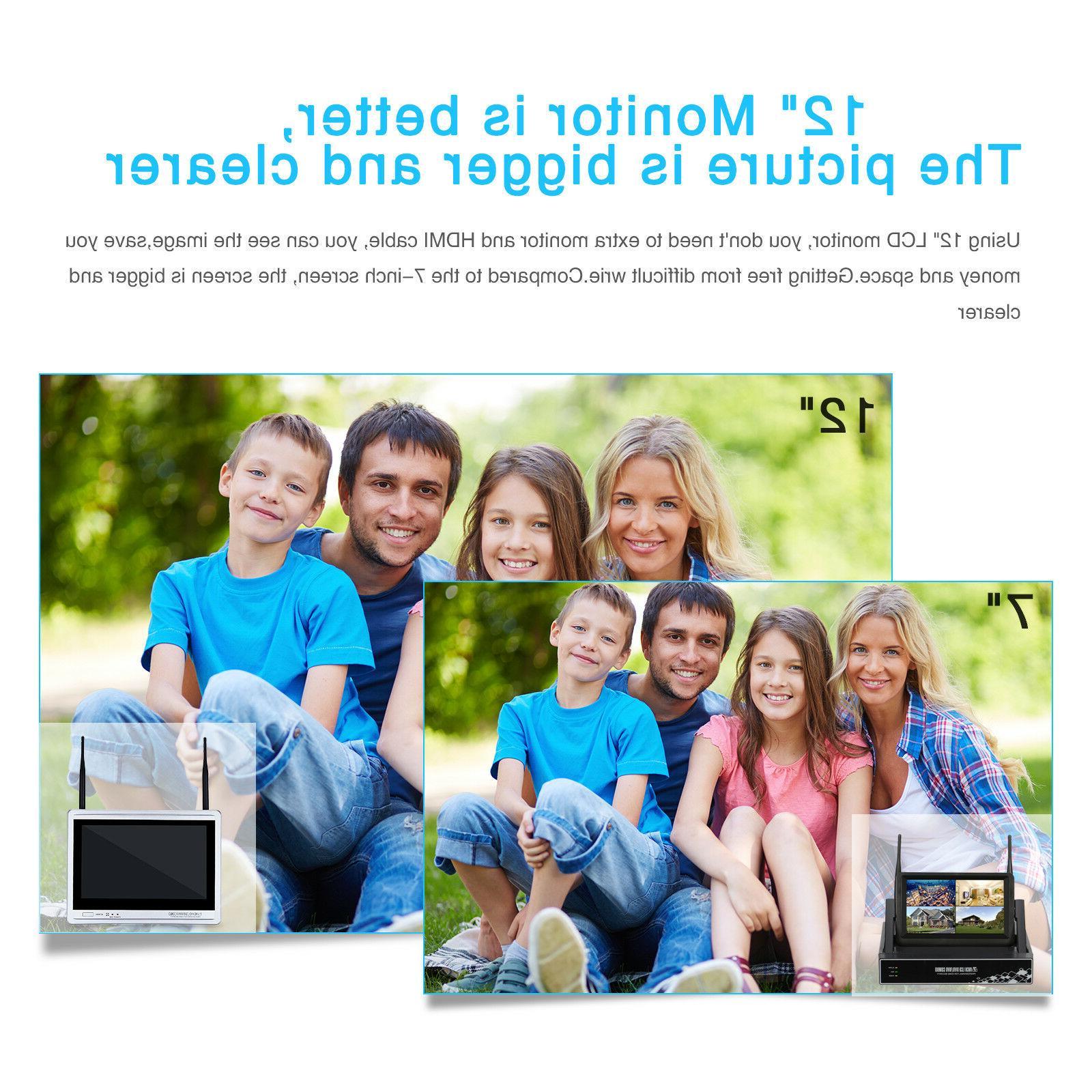 ANRAN NVR Wireless 8CH HDD IR