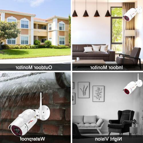 Outdoor Security Surveillance System HD CCTV 2TB