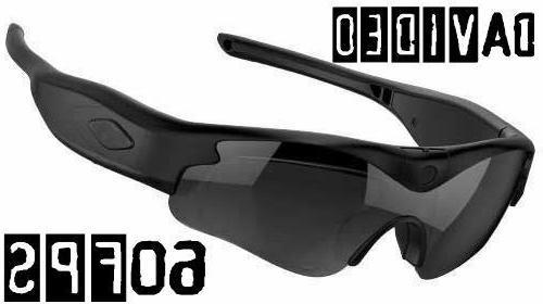 128GB daVideo HD Glasses Video Recording Sunglasses DVR