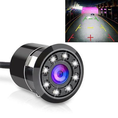 12V Waterproof 8LED Car Backup Rearview Parking HD Camera Ni