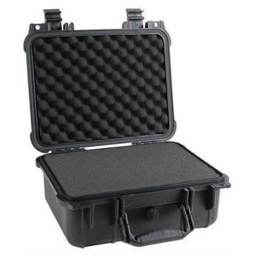 """14"""" Weatherproof Hard Case Dry Box For DSLR HD Camera w/ Pel"""