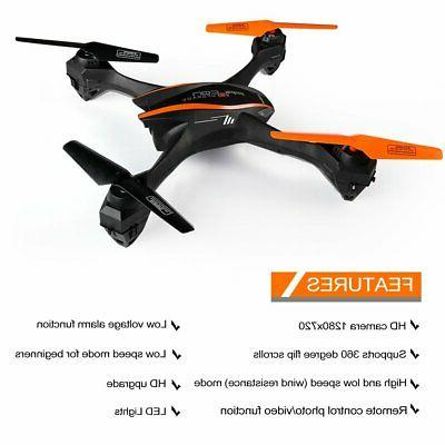 2.4GHz 360°Flips Axis 4CH Upgrade Camera Transmitter US
