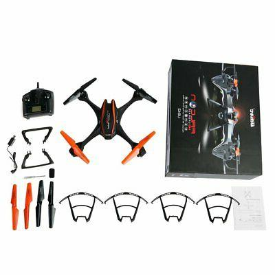 2.4GHz Axis 4CH HD Upgrade HD Camera Drone US