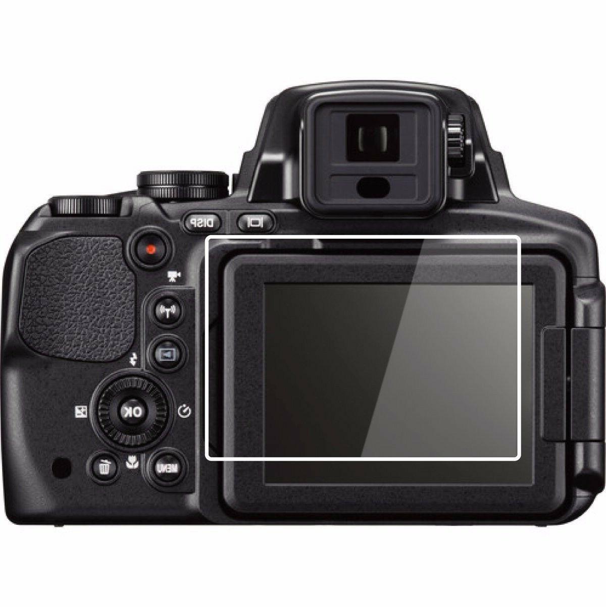 2 Sets Crystal Clear HD LCD Screen Protector - Nikon COOLPIX