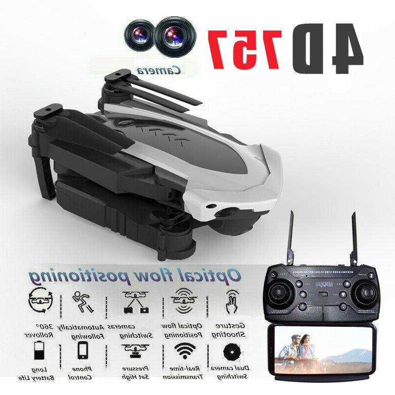 2019 2 4g 1080p foldable rc drone