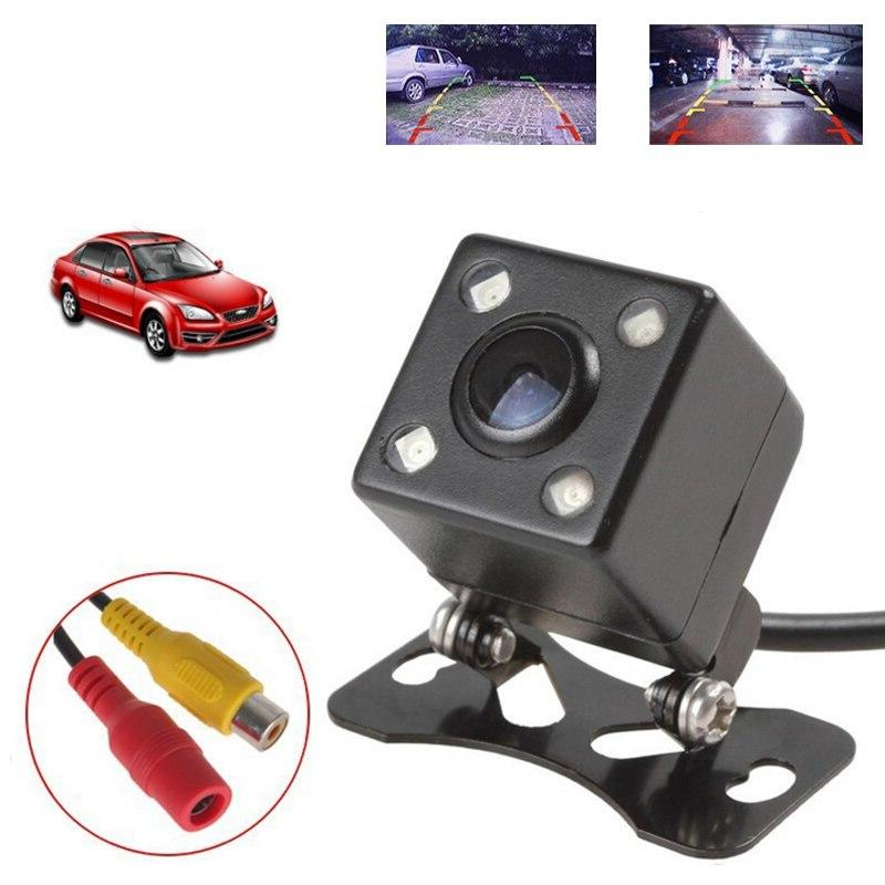 2019 new CCD rear camera 4LED <font><b>Night</b></font> Vision Reversing Car HD Camera