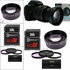 2X OPTICAL TELEPHOTO ZOOM LENS +3 HD FILTERS +16GB FOR NIKON