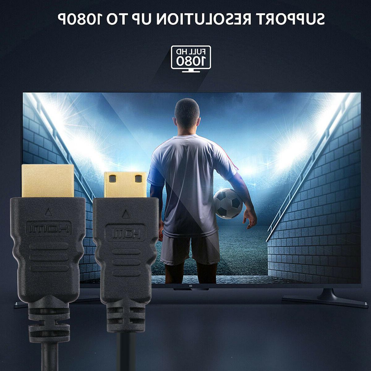 2pcs 3ft Fully Mini Connectors Cable