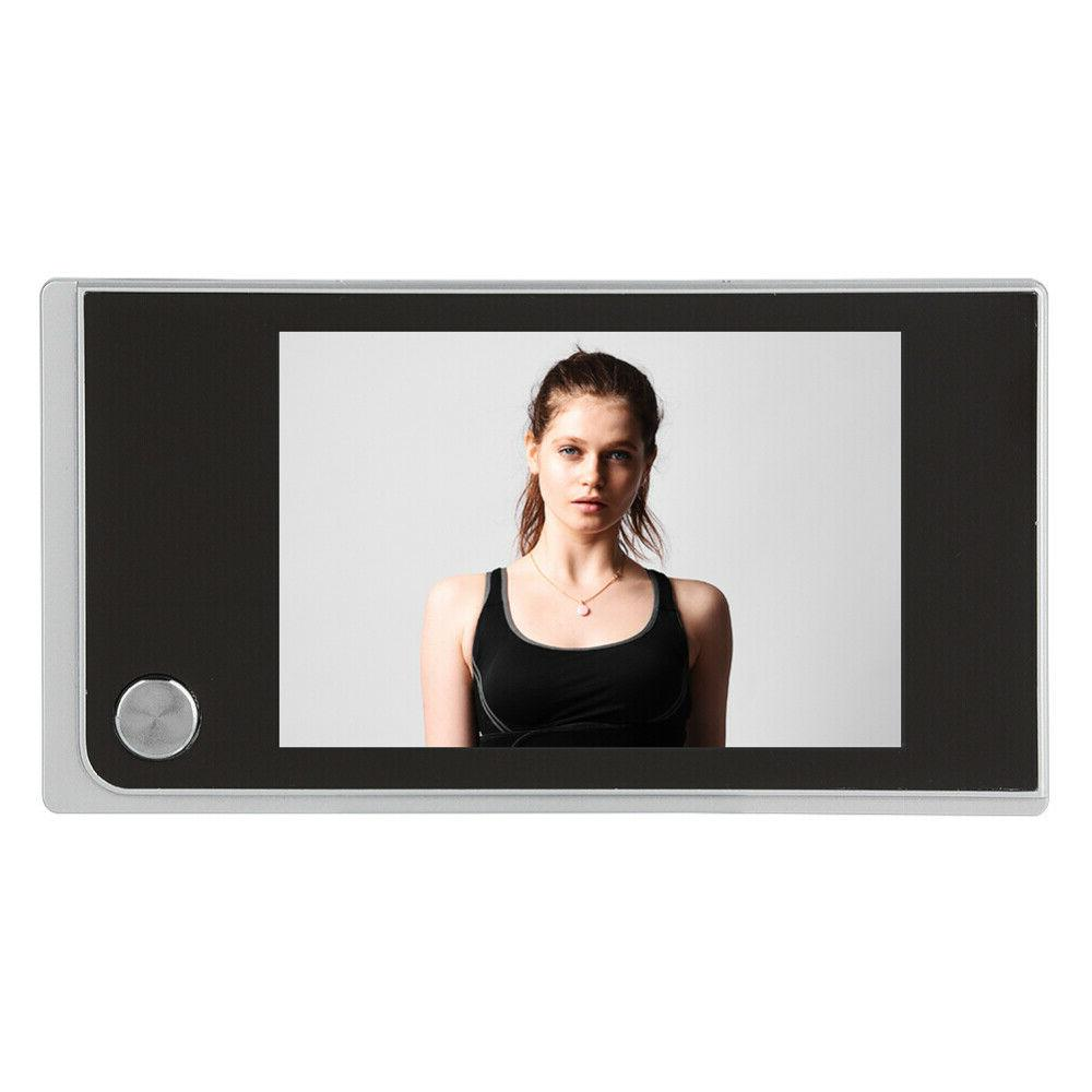 """3.5"""" 120° Digital Peephole Door Viewer Doorbell Camera Door Bell"""