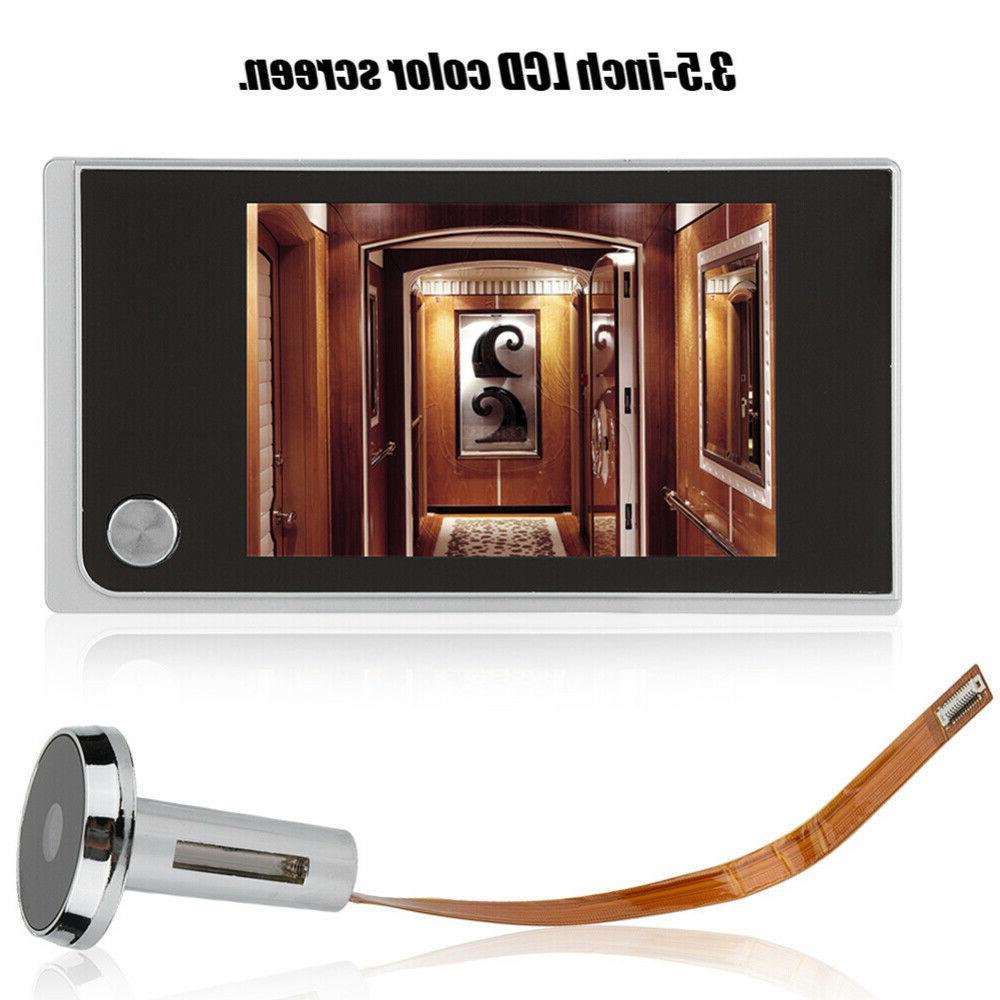 """3.5"""" 120° LCD Digital Peephole Door Doorbell Door Bell"""