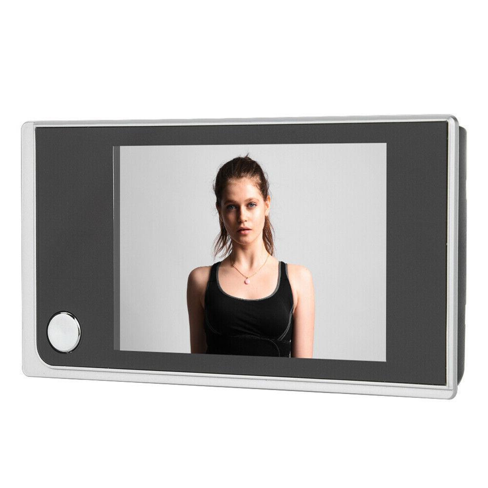 """3.5"""" LCD Peephole Doorbell Door Bell"""