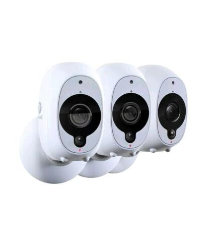 3 1080P Night Vision Smart Wi-Fi Cameras