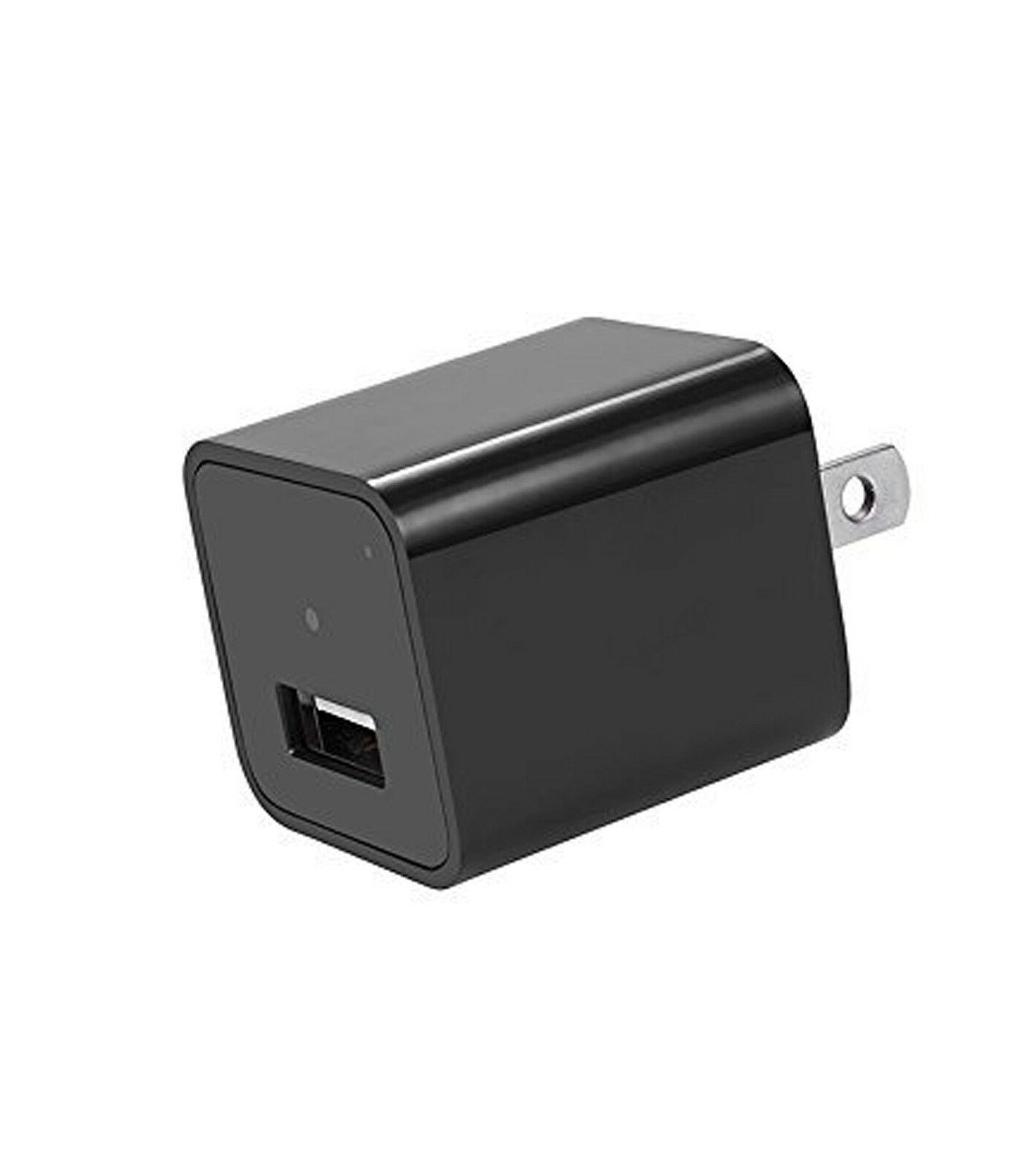 32GB Mini SPY Wall Charger Camera US Adapter FULL HD Cam